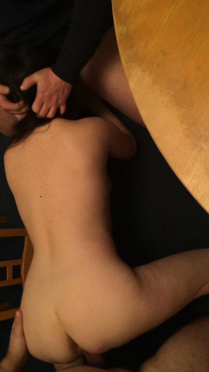 sexy tattooed slut goes crazy sucking porn