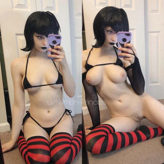 asian porn photo asian pussy porn spreading hairy sweet #NymphPrincess aka #HoneyMomo c. #2020 - #pale #goth #glasses #breasts #catears #pentagramharness #thighsocks