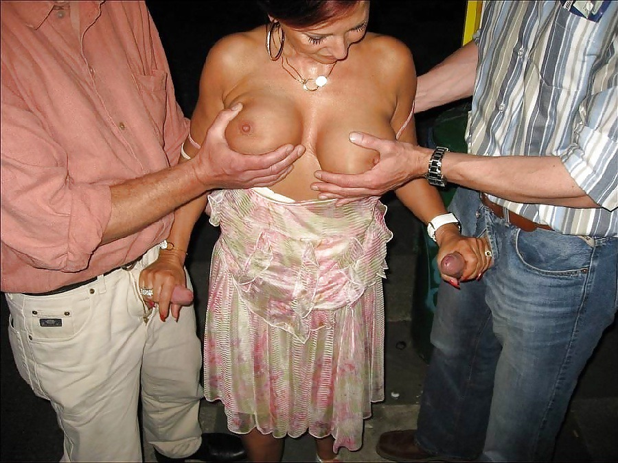 busty granny takes care of two cocks at once directories xxx
