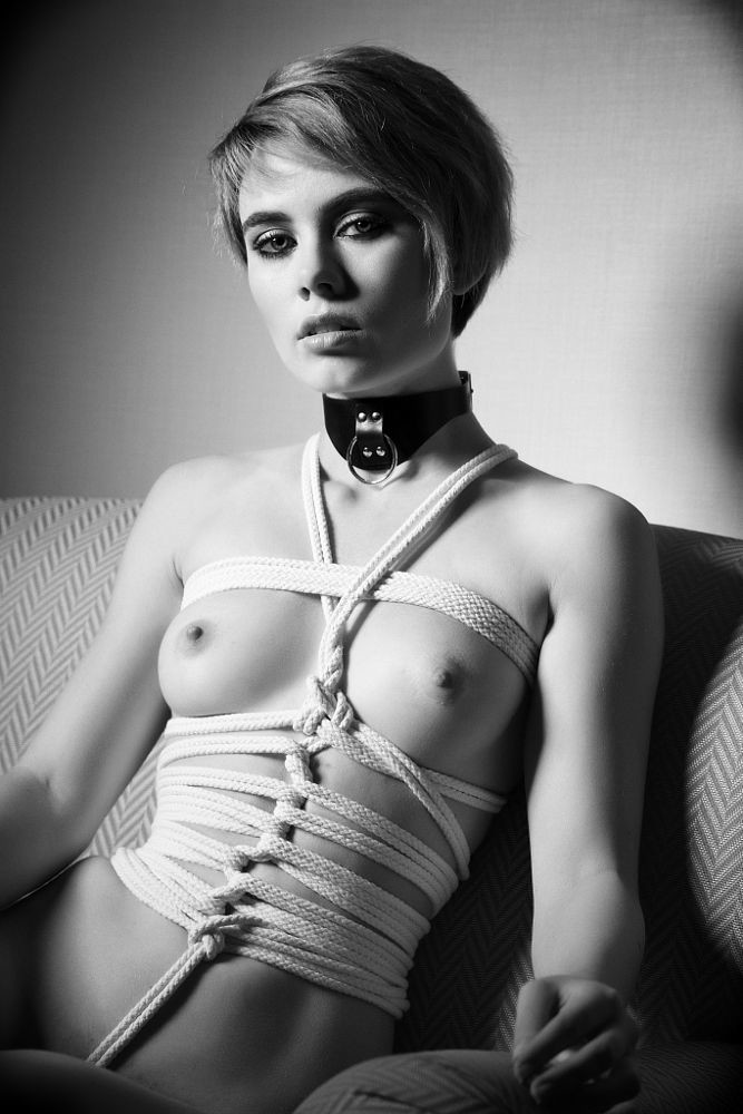 shyla and leah wilde bondage pussy licking Prettypinkfoxy Strapon Baddragon Rope Shibari Harness
