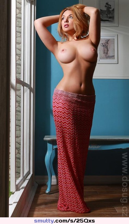 hot blonde in a sexy tight dress forced offi