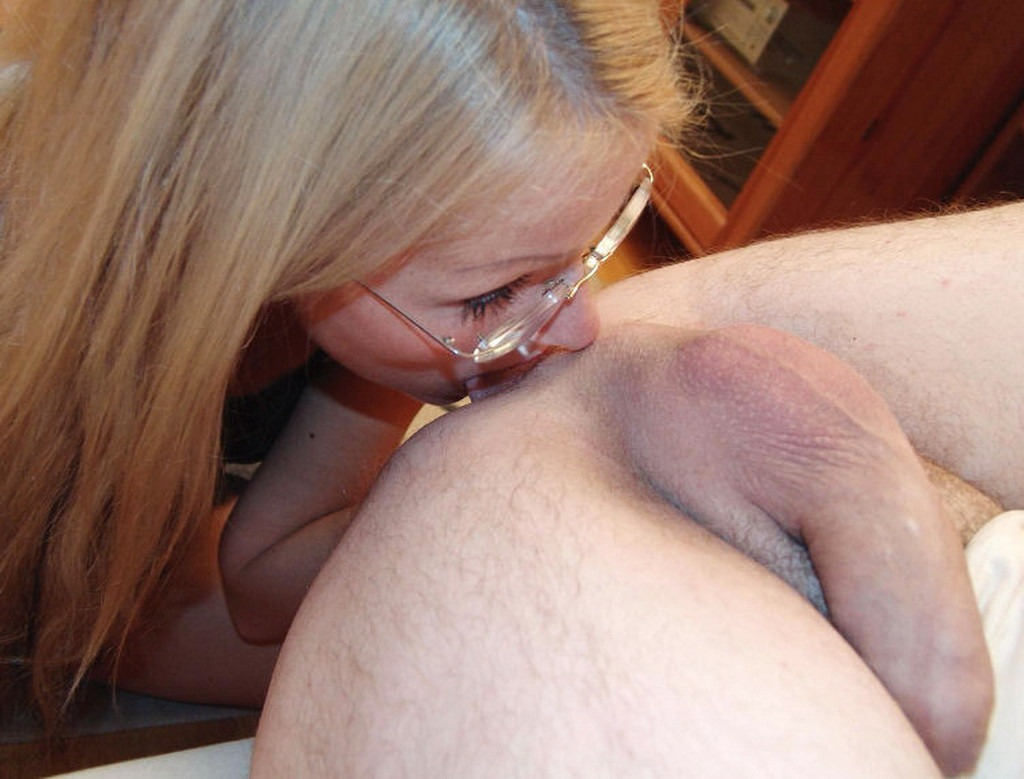 she loves to have his cum all over her face photo