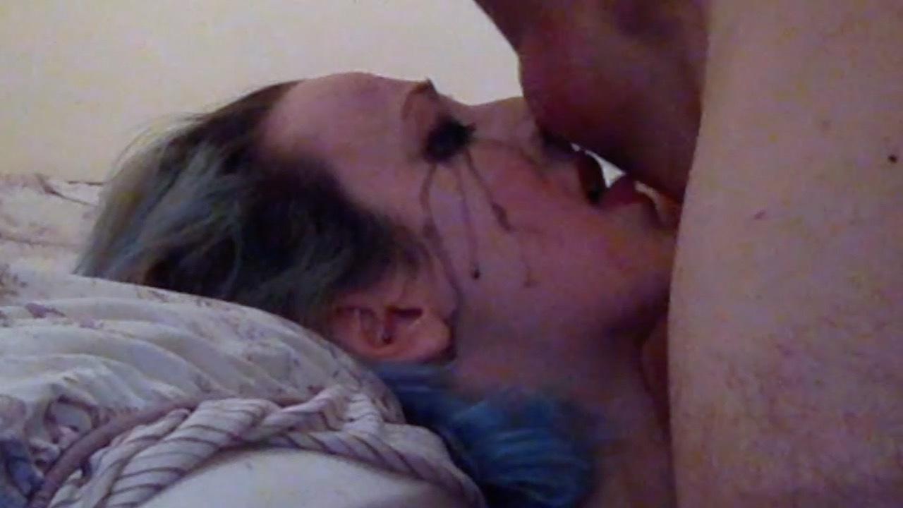 busty wife handjob cumshot orgasm massage husband domestic pov