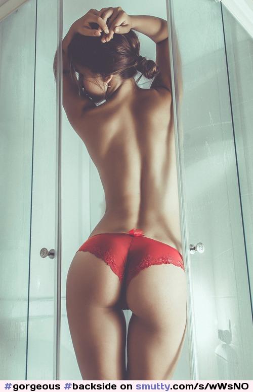 i want my gf like this #ass #bentover #bottomless #bottomless #bum #dimples #feet #feet #gap #gorgeous #greatass #nicelegs #partlyclothed #psfb #roundass #softfocus #waist