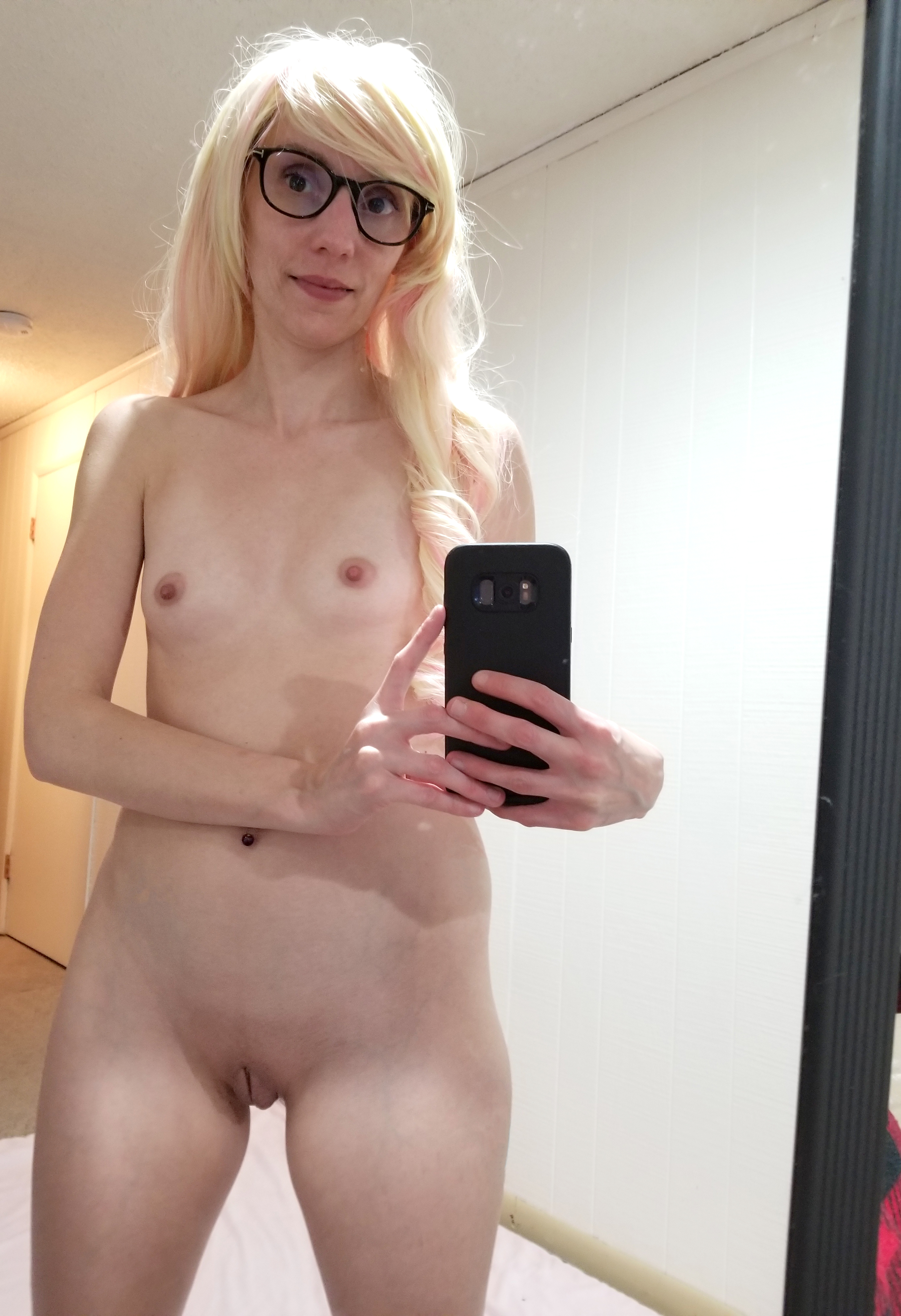 office christmas threesome free christmas threesome #glasses #plainjane #nerd #skinny #smalltits #acup #selfie #amateur #blonde #mirrorshot