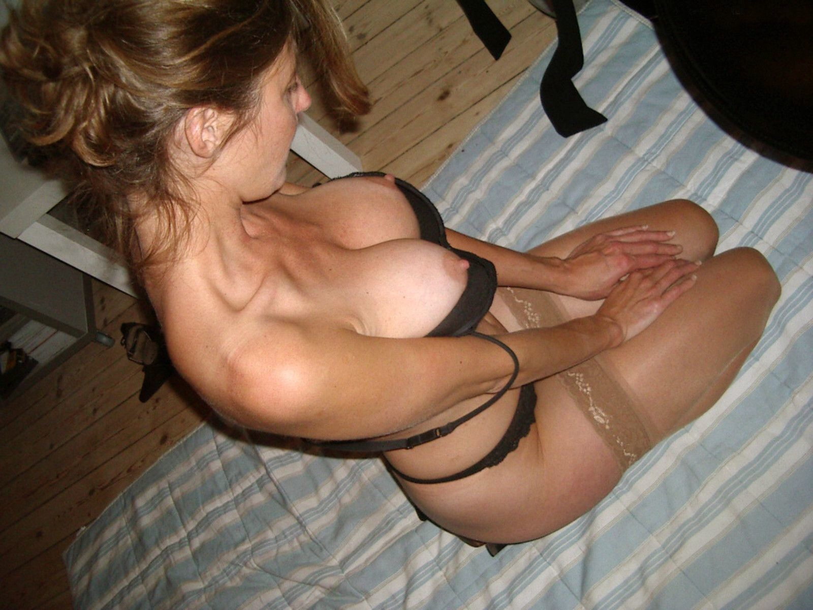 ass blonde hair breasts erect nipples extro green eyess
